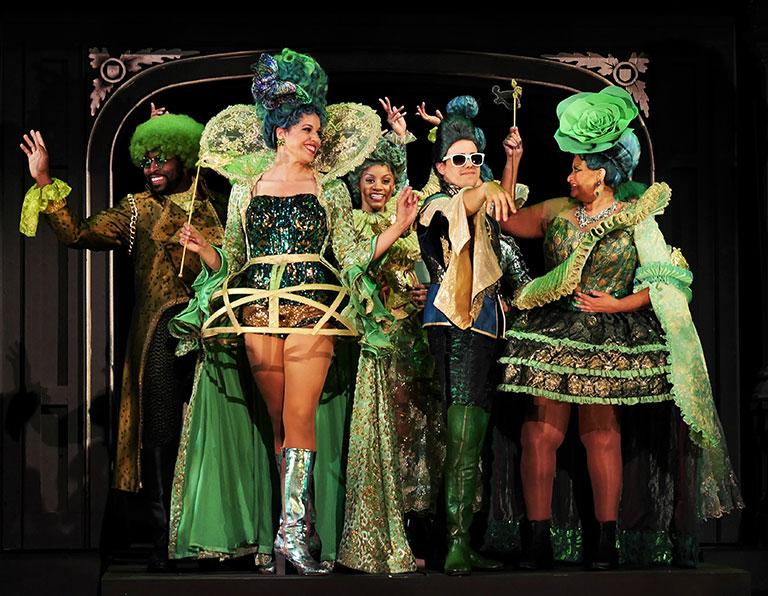 Dorothy's Dreamscape: Contemporary Meets Elizabethan Meets Fantastic