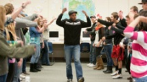 Jason Sanford teaching a workshop in La Pine, Oregon