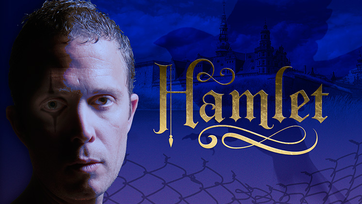 A soccer player at Pacific LutheranUniversitywhena leg injury ended his career, Danforth Cominsturned to theater. After 12 years withtheOSF,heplays the title role in this year's production ofHamlet. Our group hashad a privatediscussion with Cominsseveral times.