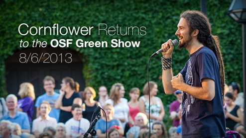 Cornflower returns to the Green Show